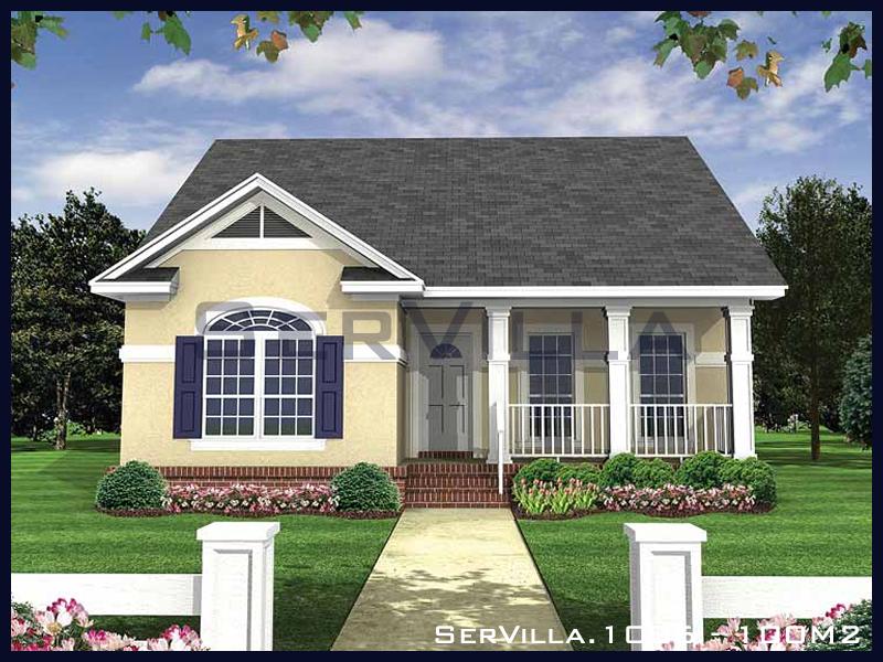 100 m2 Çelik Konstrüksiyon Villa Modeli 6