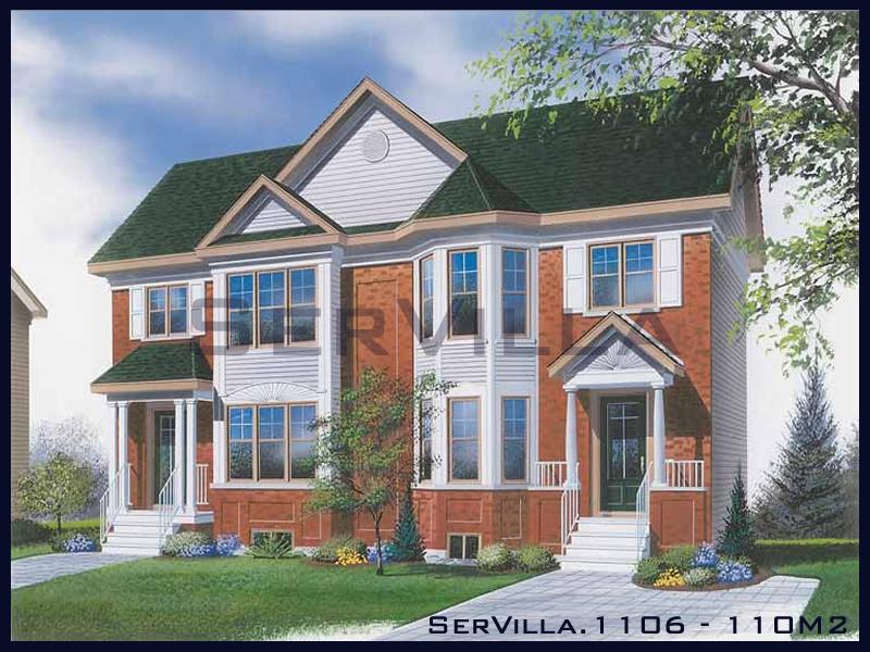 110 m2 Çelik Konstrüksiyon Villa Modeli 6