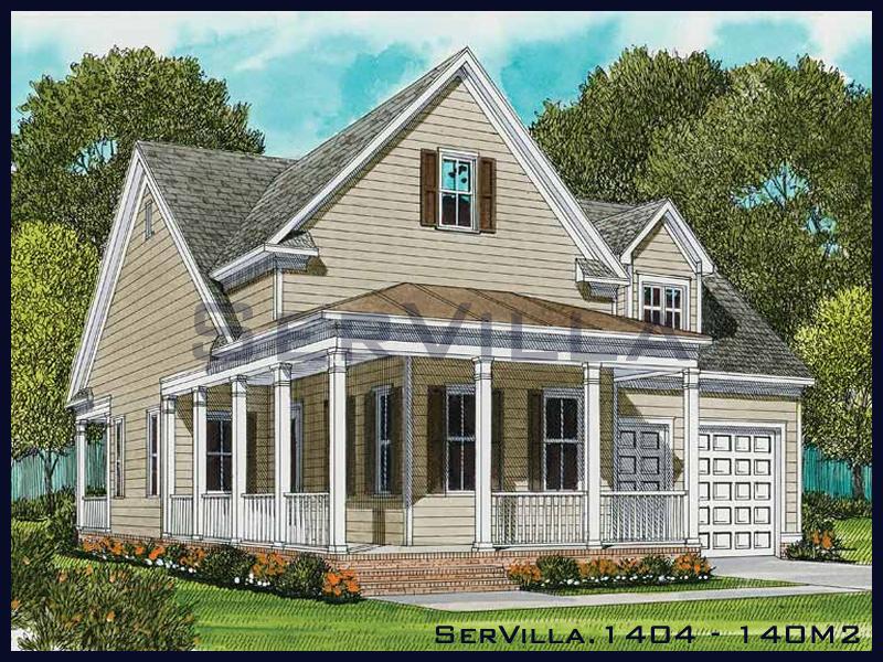 140 m2 Çelik Konstrüksiyon Villa Modeli 4