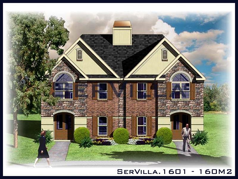 160 m2 Çelik Konstrüksiyon Villa Modeli 1