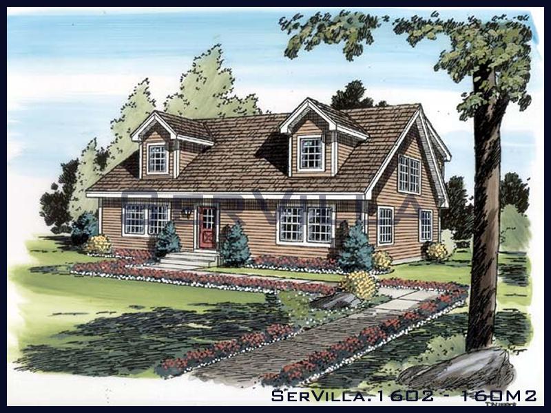 160 m2 Çelik Konstrüksiyon Villa Modeli 2