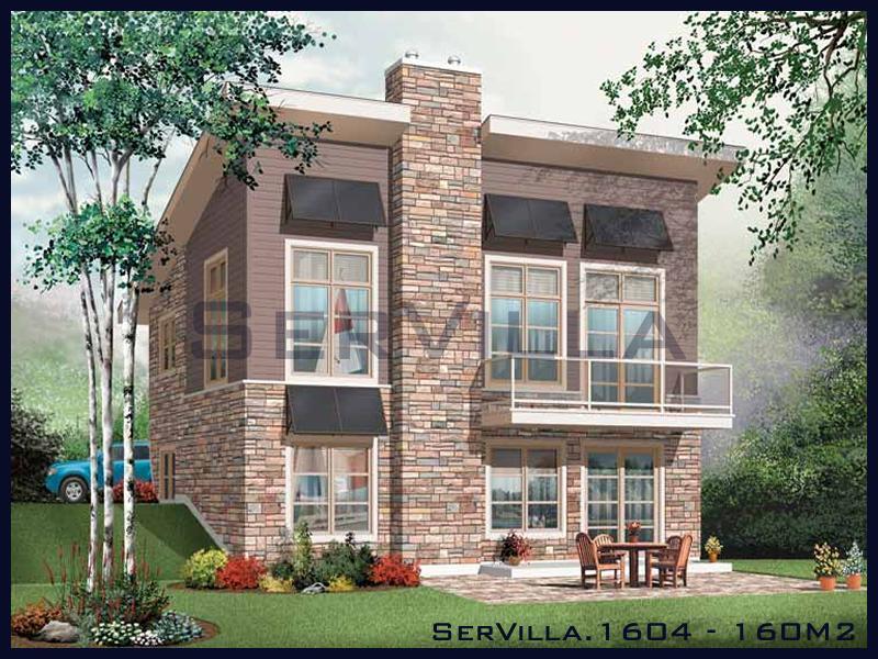160 m2 Çelik Konstrüksiyon Villa Modeli 4