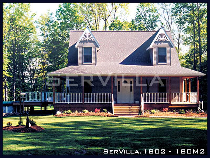 180 m2 Çelik Konstrüksiyon Villa Modeli 2