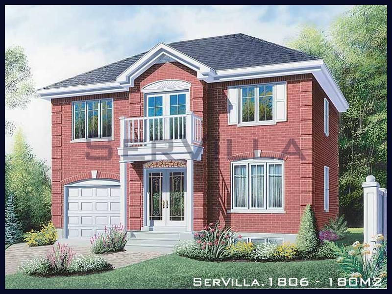 180 m2 Çelik Konstrüksiyon Villa Modeli 6
