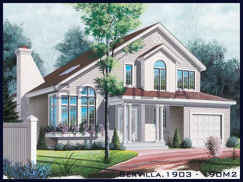 190 m2 Çelik Konstrüksiyon Villa Modeli 3