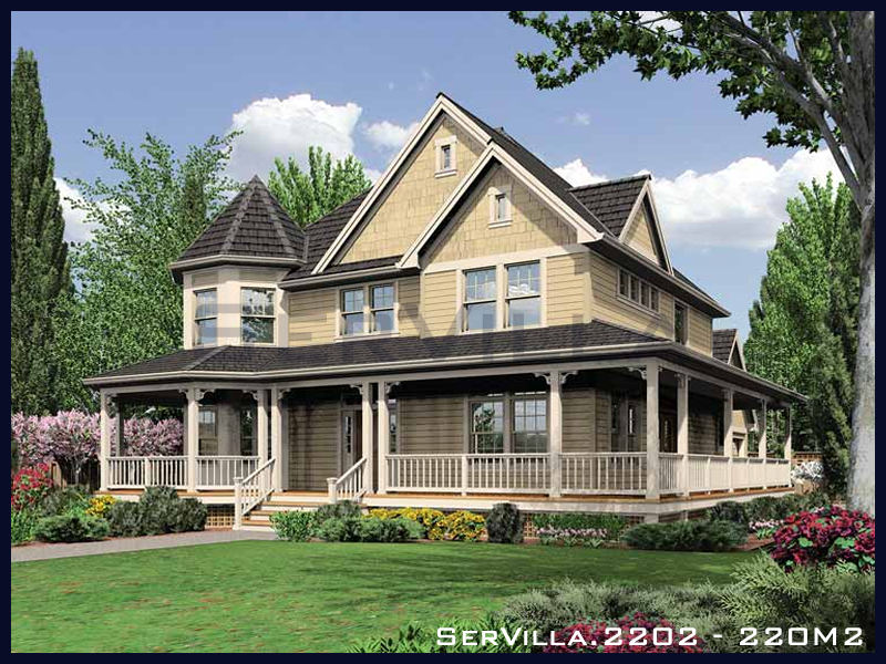 220 m2 Çelik Konstrüksiyon Villa Modeli 2