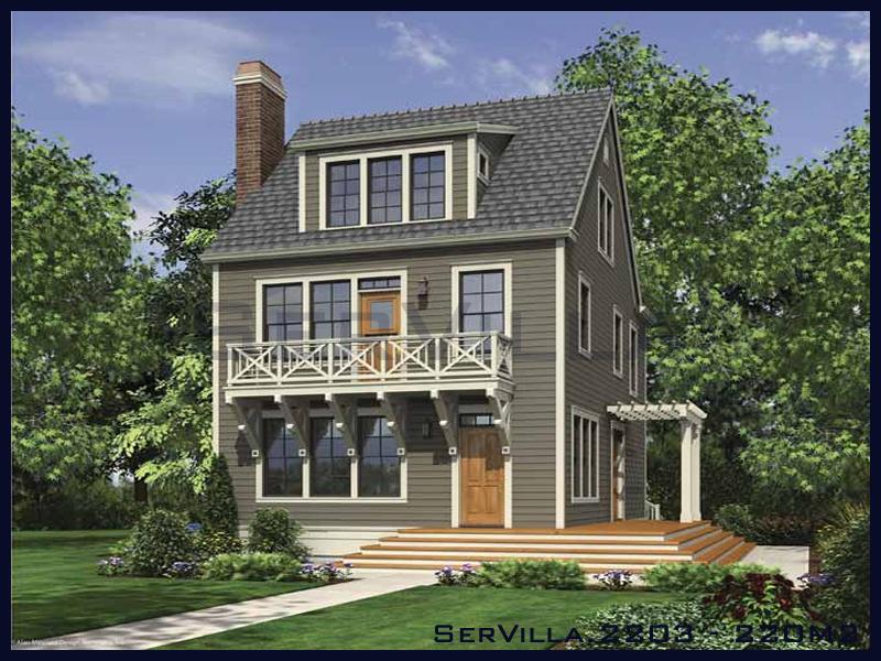 220 m2 Çelik Konstrüksiyon Villa Modeli 3