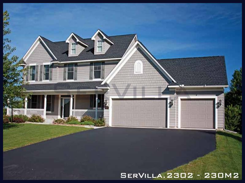 230 m2 Çelik Konstrüksiyon Villa Modeli 2