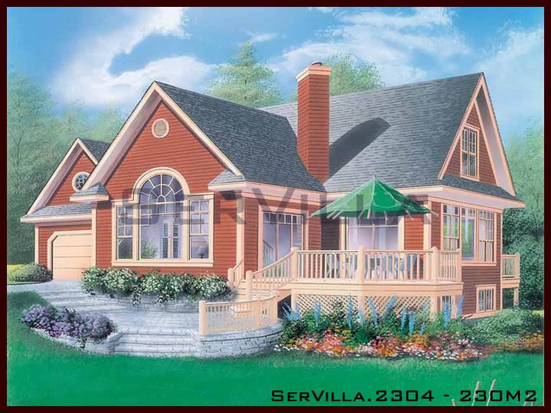 230 m2 Çelik Konstrüksiyon Villa Modeli 4
