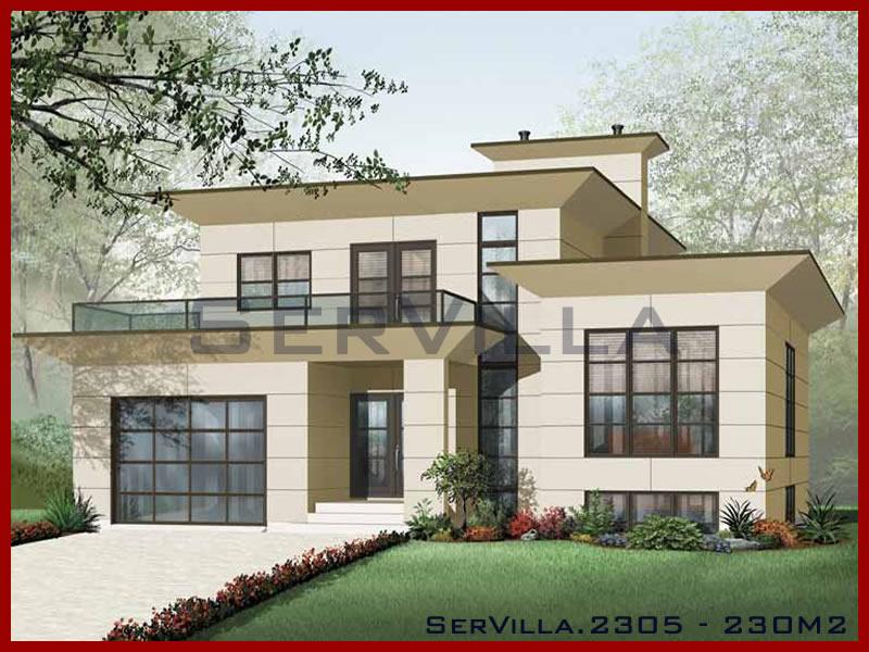 230 m2 Çelik Konstrüksiyon Villa Modeli 5