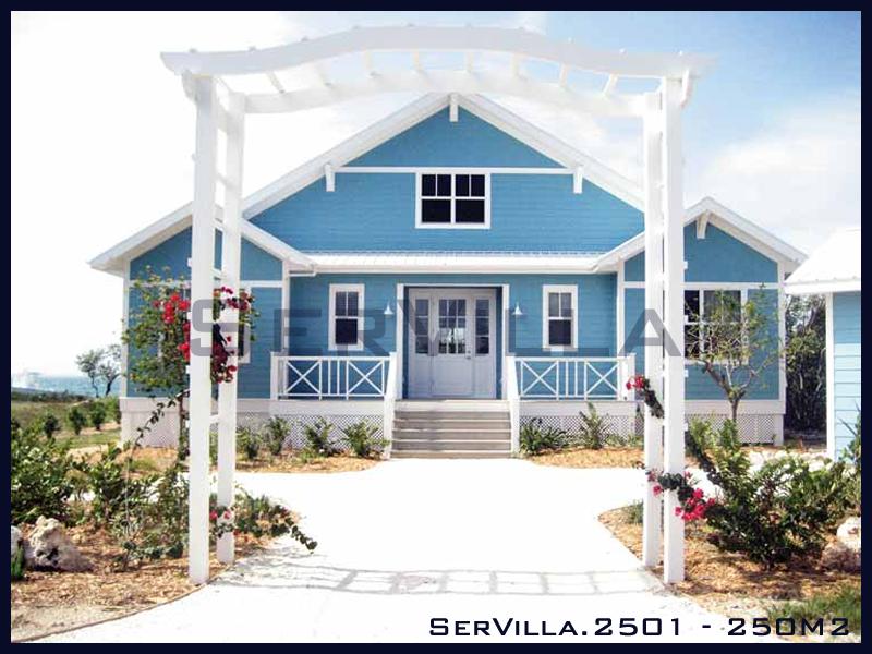 250 m2 Çelik Konstrüksiyon Villa Modeli 1