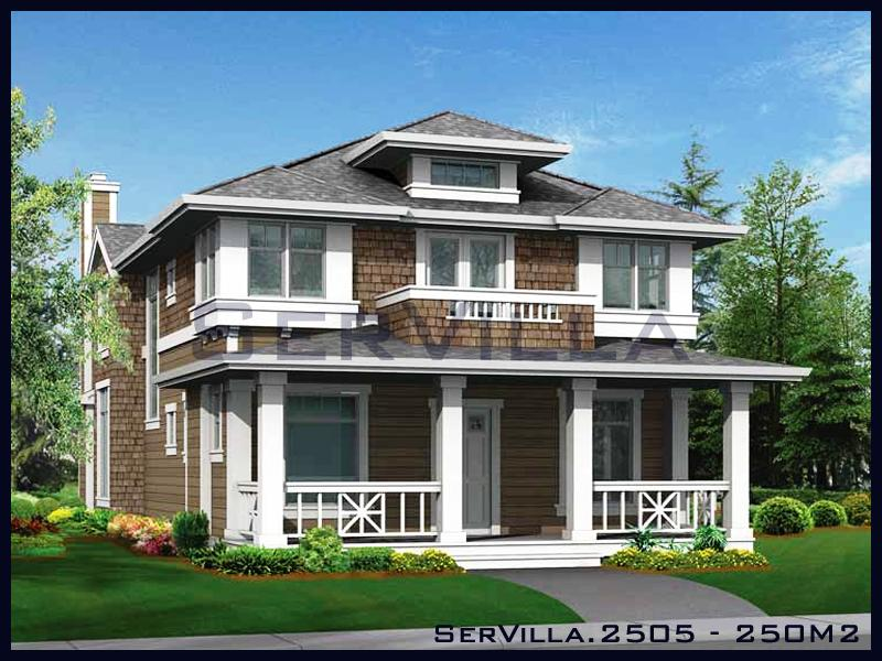 250 m2 Çelik Konstrüksiyon Villa Modeli 5