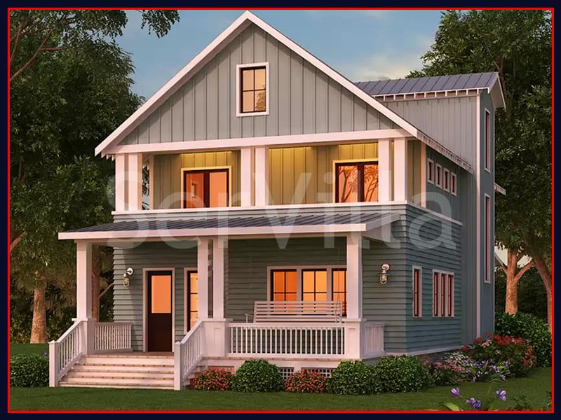 250 m2 Çelik Konstrüksiyon Villa Modeli 9