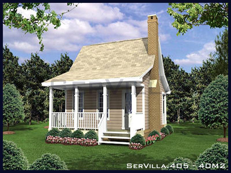 40 m2 Çelik Konstrüksiyon Villa Modeli 5