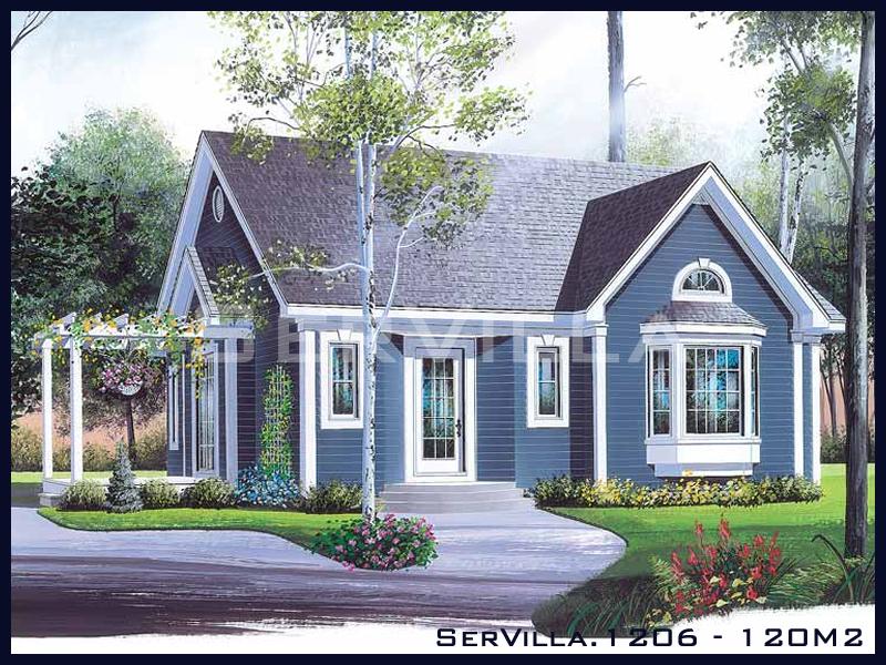 120 m2 Çelik Konstrüksiyon Villa Modeli 6