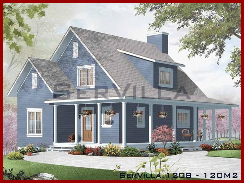 120 m2 Çelik Konstrüksiyon Villa Modeli 8