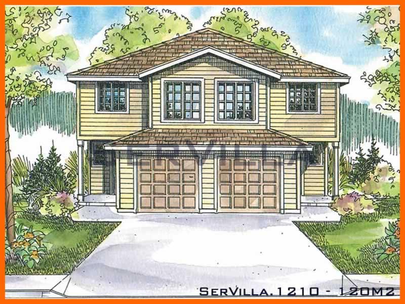 120 m2 Çelik Konstrüksiyon Villa Modeli 10