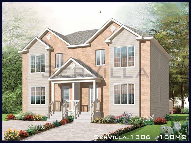 130 m2 Çelik Konstrüksiyon Villa Modeli 6