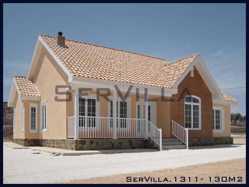 130 m2 Çelik Konstrüksiyon Villa Modeli 11