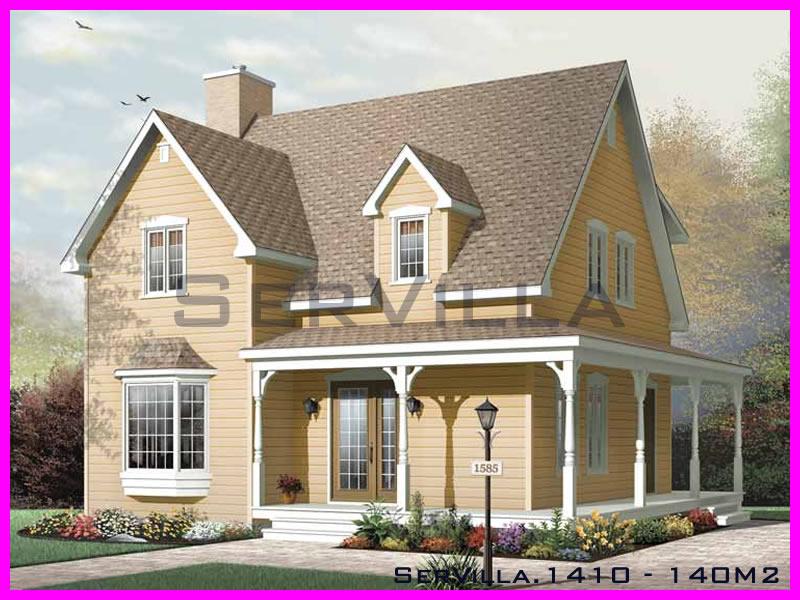 140 m2 Çelik Konstrüksiyon Villa Modeli 10