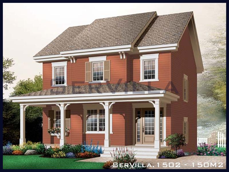 150 m2 Çelik Konstrüksiyon Villa Modeli 2