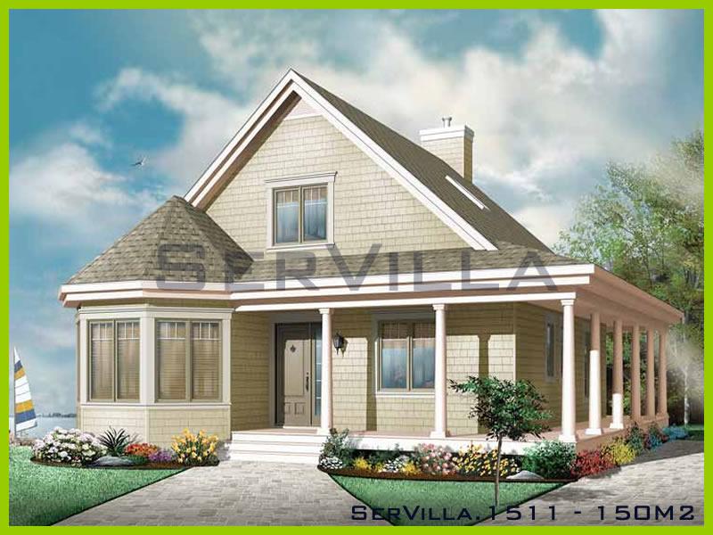 150 m2 Çelik Konstrüksiyon Villa Modeli 11