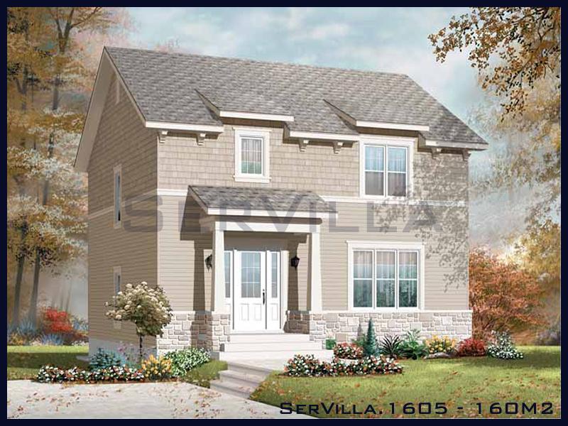 160 m2 Çelik Konstrüksiyon Villa Modeli 5