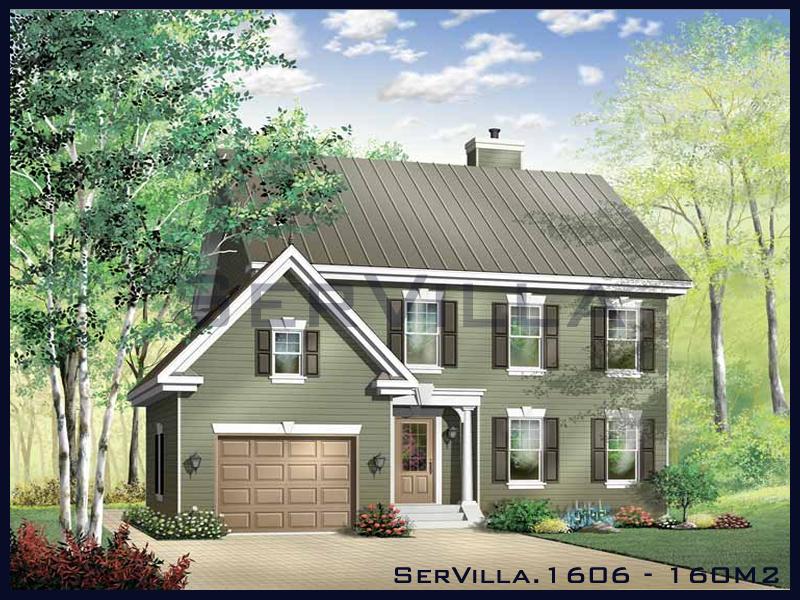 160 m2 Çelik Konstrüksiyon Villa Modeli 6