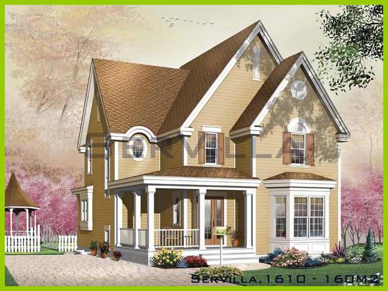 160 m2 Çelik Konstrüksiyon Villa Modeli 10