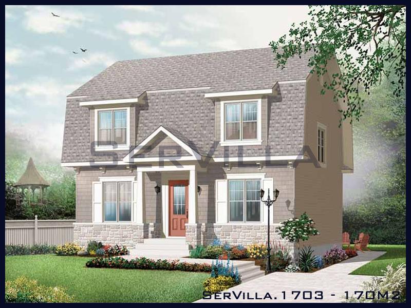 170 m2 Çelik Konstrüksiyon Villa Modeli 3