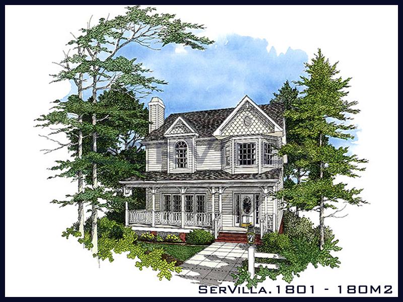 180 m2 Çelik Konstrüksiyon Villa Modeli 1