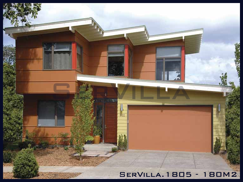 180 m2 Çelik Konstrüksiyon Villa Modeli 5