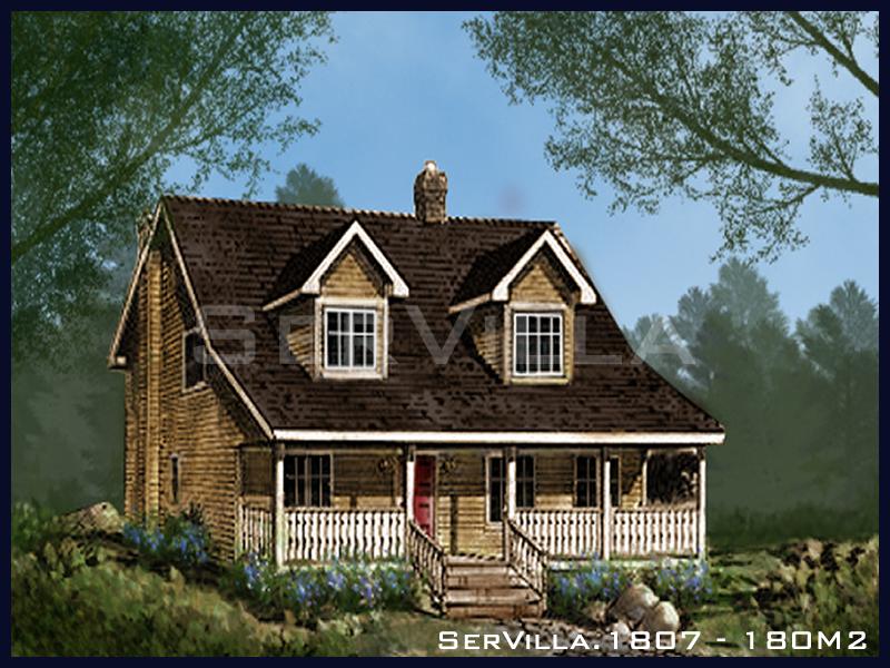 180 m2 Çelik Konstrüksiyon Villa Modeli 7