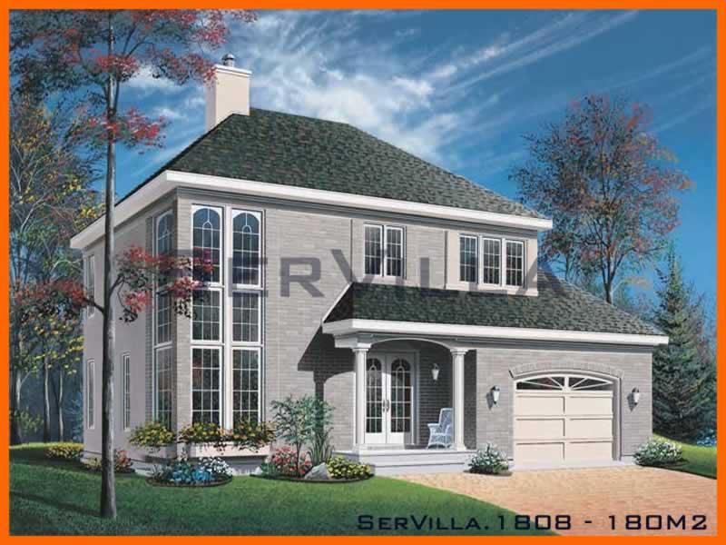 180 m2 Çelik Konstrüksiyon Villa Modeli 8