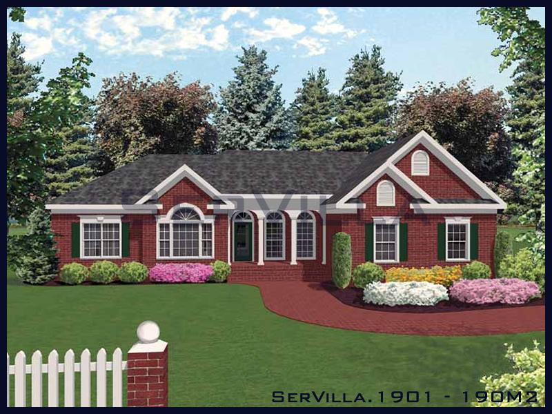190 m2 Çelik Konstrüksiyon Villa Modeli 1