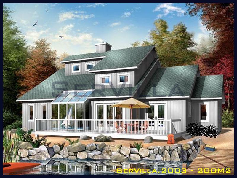 200 m2 Çelik Konstrüksiyon Villa Modeli 3