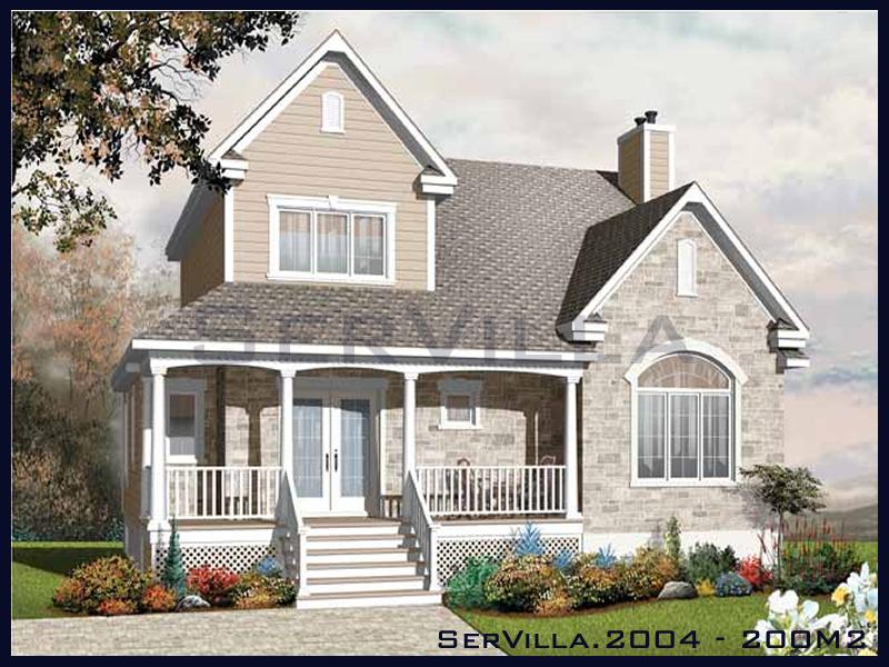 200 m2 Çelik Konstrüksiyon Villa Modeli 4