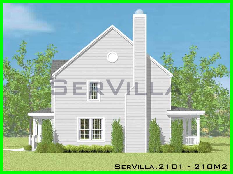 210 m2 Çelik Konstrüksiyon Villa Modeli 1