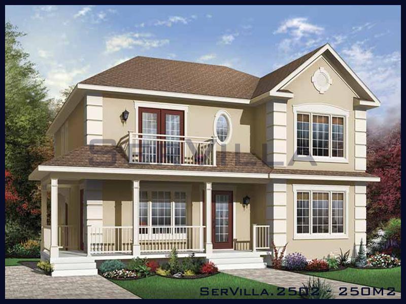 250 m2 Çelik Konstrüksiyon Villa Modeli 2