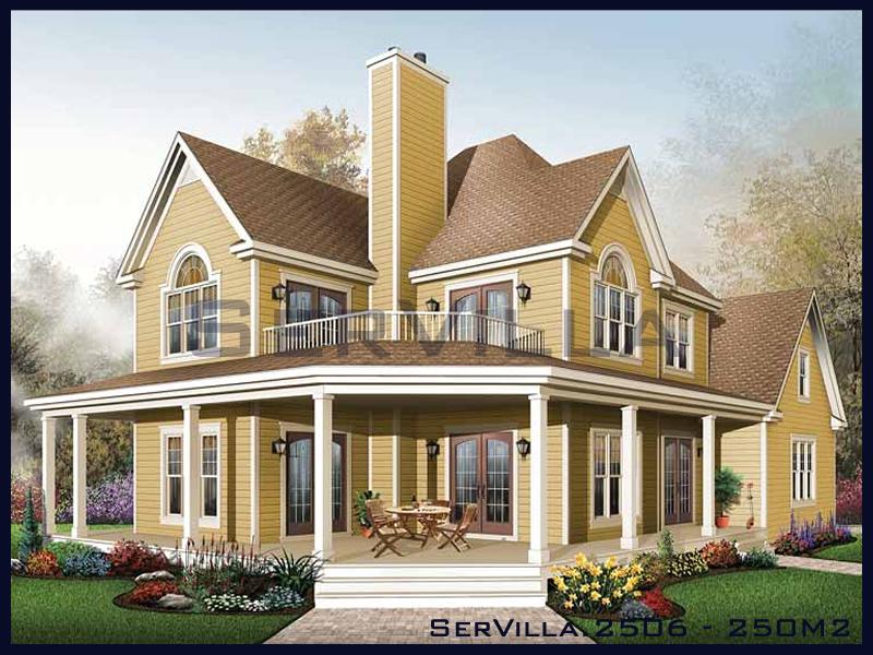250 m2 Çelik Konstrüksiyon Villa Modeli 6